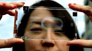 xl_Polytron transparent smartphone